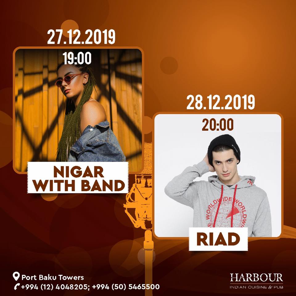 Nigar with Band ; Riad - live music