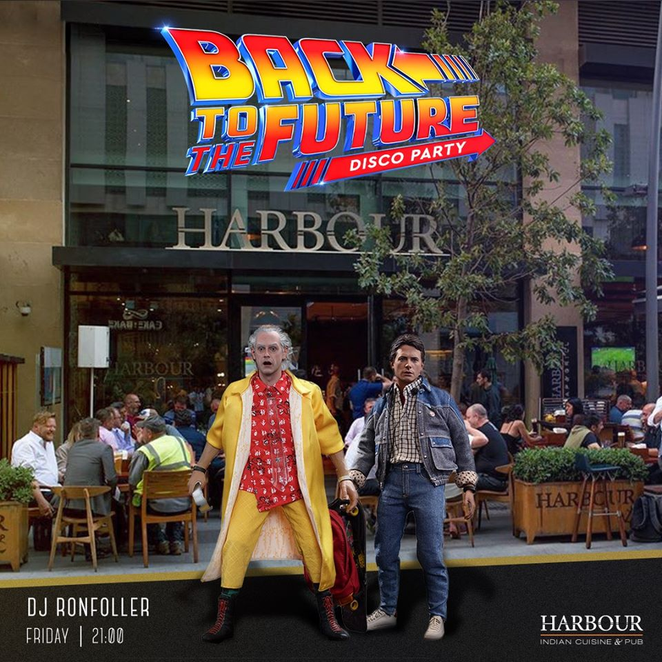"""Back to the future"" party"